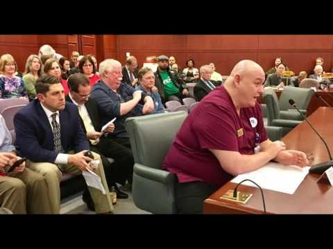UHP president before the Labor and Public Employees Committee