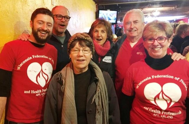 Save ACA rallier in Wisconsin